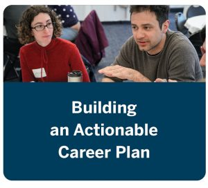 Building an Actionable Career Plan